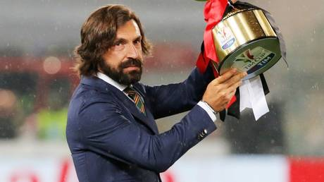 New boss: Andrea Pirlo is expected to be named the new Juventus head coach