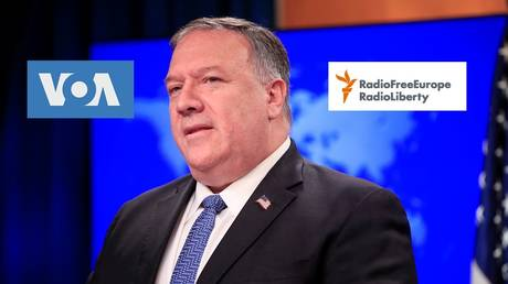 Rules for thee but not for me: Pompeo denounces proposed Russian law as 'burdensome' limitation on US propaganda outlets