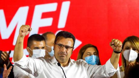 Zoran Zaev in Skopje, North Macedonia, July 16, 2020. © Reuters / Ognen Teofilovski