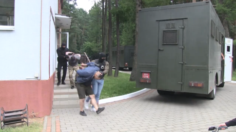 Dozens of alleged Russian members of 'PMC Wagner' detained near Minsk