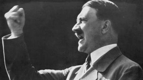 Open wide, Adolf! Daughter of Kremlin spokesman posts photo of HITLER'S TEETH on Instagram