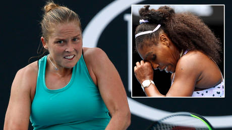 Shelby Rogers beat tennis great Serena Williams at the Top Seed Open © Ciro De Luca / Reuters | © Kai Pfaffenbach / Reuters