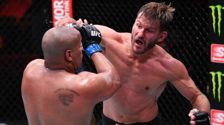 And still: Stipe Miocic retained his heavyweight title at UFC 252