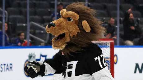 LA Kings' NHL mascot Bailey © Aaron Doster / USA Today Sports via Reuters