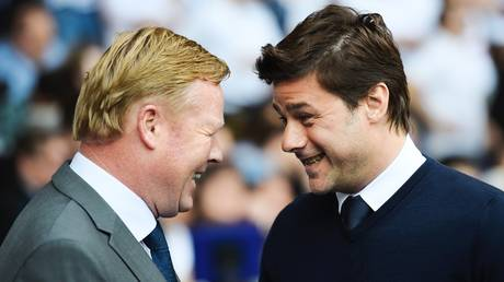 Who's next? Ronald Koeman and Mauricio Pochettino have both been linked with the Barcelona job
