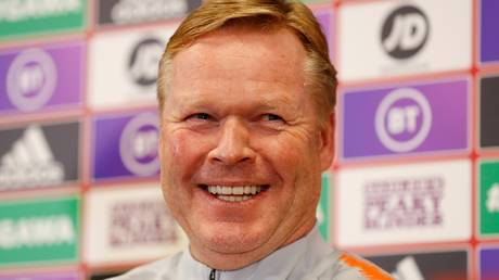 New man in charge: Ronald Koeman is expected to be appointed the new Barcelona boss