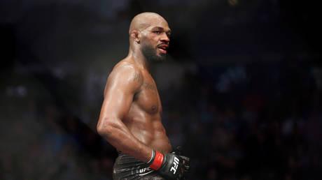 Jon Jones has vacated his UFC light heavyweight title. © USA Today Sports