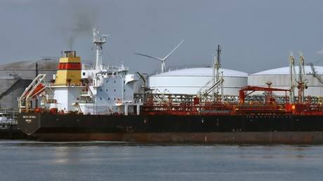 The gas tanker Luca, one of the four seized by the US last week © UN Department of Justice