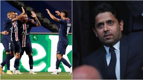PSG could land a publicity coup for their Qatari owners. © Reuters