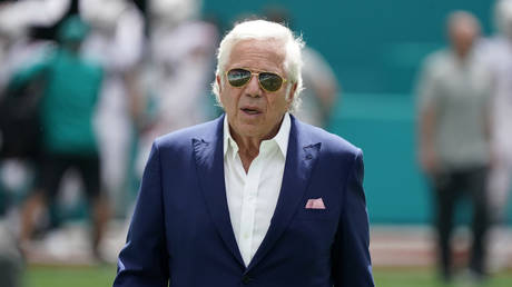 New England Patriots owner Robert Kraft. © Reuters
