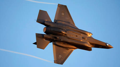FILE PHOTO. An Israeli Air Force F-35.