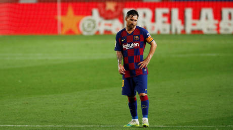 Lionel Messi is disgruntled with life at Barcelona. © Reuters