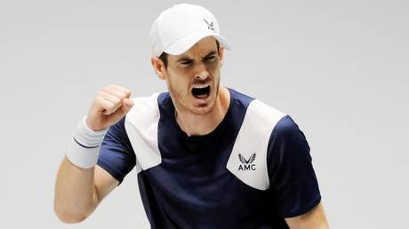 Missing the fans: Andy Murray