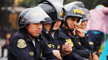 FILE PHOTO. Police officers in Lima, Peru. © Zuma Press via Global Look Press/Carlos Garcia Granthon