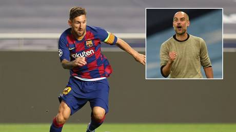 Could Lionel Messi be reunited with Pep Guardiola? © Reuters