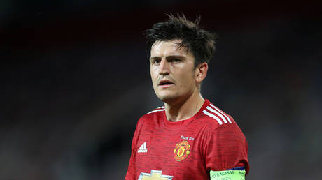 Manchester United defender Harry Maguire. © Reuters
