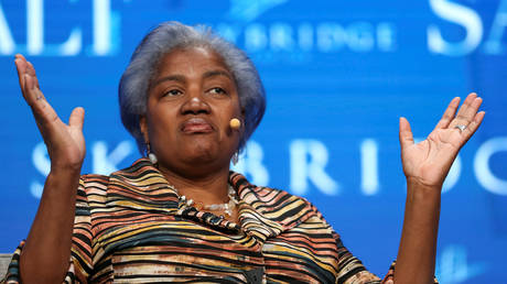 Donna Brazile speaks during a conference in Las Vegas, Nevada, May 18, 2017 © Reuters / Richard Brian
