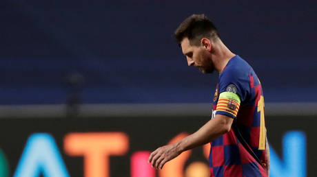 Barcelona captain Lionel Messi has said he wants to leave the club. © Reuters