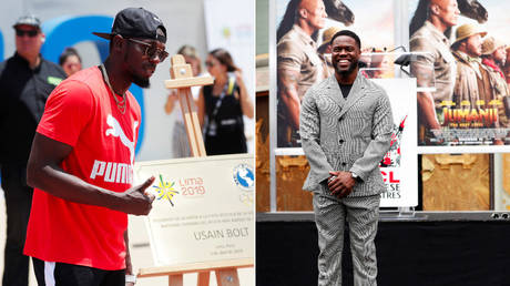 Do they look alike to you? NBC roasted for photo of actor KEVIN HART on story about athlete USAIN BOLT