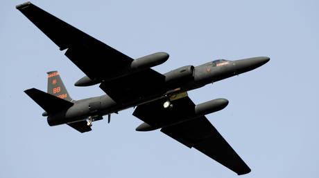 Handout photo of a US Air Force U-2 spy plane