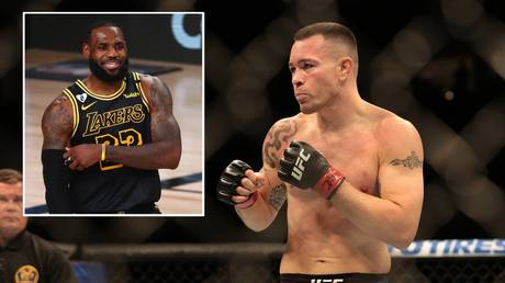 UFC Fighter Colby Covington had words for NBA icon LeBron James. © USA Today Sports