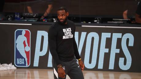 Basketball star LeBron James. © Reuters