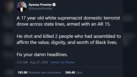 Twitter / @AyannaPressley