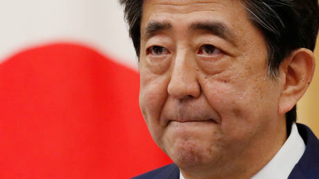 FILE PHOTO: Japan's Prime Minister Shinzo Abe