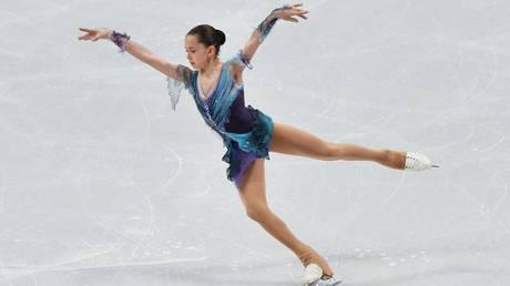 Russian junior skater Kamila Valieva © Sputnik / Alexander Kondratyuk