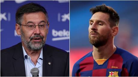 Lionel Messi is said to be seeking a meeting with Barcelona bosses including unpopular president Josep Maria Bartomeu. © Reuters