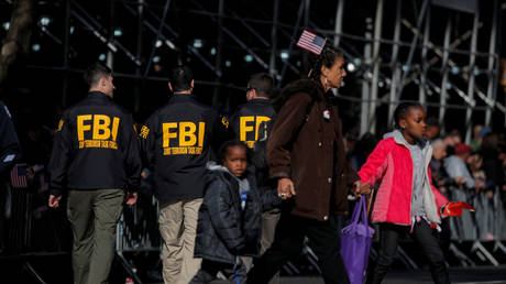 FBI counter-terrorism unit at the Veterans Day Parade in New York City, November 11, 2019.  (FILE PHOTO)