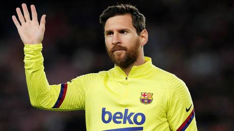 Waving goodbye to Barca? Lionel Messi