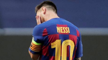 Uncertain future: Lionel Messi