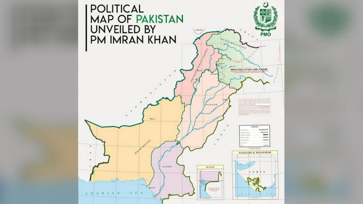 Image of: We Ll Stand By People Of Kashmir Pakistani Foreign Minister Tweets New Political Map Of Region That Was Blasted By India Rt World News