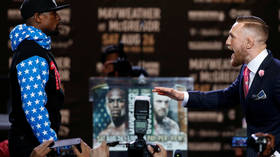 'Nobody got behind me': Floyd Mayweather slams Conor McGregor over 'dance boy' racism row as boxing icon backs Black Lives Matter