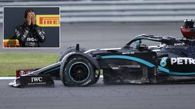 'Are you kidding me?!' Lewis Hamilton wins record seventh British Grand Prix despite finishing race with ONLY THREE TYRES