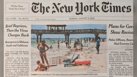 Pandemic propaganda? NY Times implies outings to the beach or the park are to blame for Covid-19