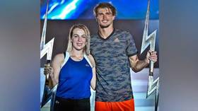 Russia's Pavlyuchenkova becomes first women's champ in Ultimate Tennis Showdown event set up by Serena coach & hyped by Mike Tyson