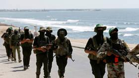 Israeli jets strike Hamas targets in Gaza after 'rocket attack'