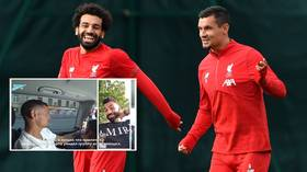 WATCH: Lovren teases 'tight' Salah over new haircut as pals catch up on FaceTime after defender joins Russian champions Zenit