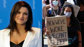 Gina Carano's formidable stand against BLM bullies is a much-wanted victory over cancel culture