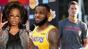 Poll asks whether you'd be more willing to take anti-Covid vaccine if recommended by...Oprah, LeBron, or Tom Brady
