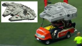 Use the Force! Mexican side Xoros use STAR WARS-themed cart to treat injured players in Liga MX game (VIDEO)