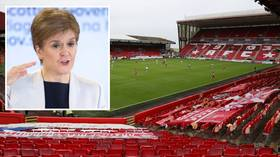 'Completely unacceptable': Scottish First Minister SLAMS football team after boozy pub trip leads to COVID-19 game cancellation