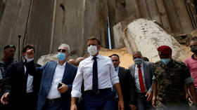 Macron styles himself as Lebanon's savior, ready to reshape country's system in Western image