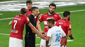 Russian referee to take LIE DETECTOR test after penalty scandal as Spartak Moscow owner threatens to pull team from league (VIDEO)
