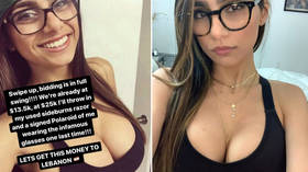 Mia Khalifa raises nearly $100k for Beirut blast victims by auctioning 'infamous' porn glasses
