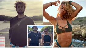 German basketball player urged to take legal action after being fired over coronavirus protest with athlete girlfriend