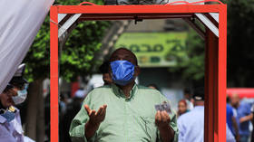 Egyptians vote for new Council of Senators with coronavirus restrictive measures in place
