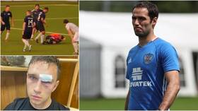 WATCH: Former Russia captain Shirokov HOSPITALIZES referee in vicious attack after being denied penalty in amateur match